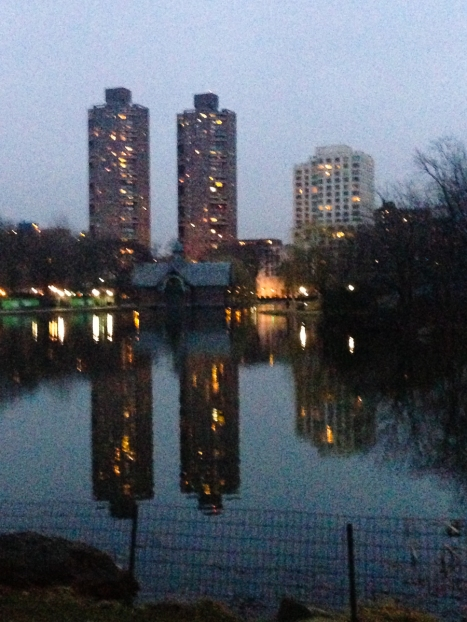 Artificial light - Harlem Meer